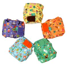 I'm trying to get Izzy back into cloth nappies full time.  I would love to try these TotsBots Easyfit v3 Nursery Rhyme nappies