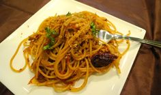 Maccheroni alla Chitarra and Bottarga | La Cucina Grandinetti