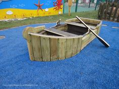 Rowing boat, play boat