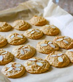 Grain Free and Paleo friendly cinnamon spiced almond sugar cookies! Made with healthy fats, coconut sugar, cinnamon, almonds, and taste like the real deal! Perfect FALL baking made healthy! A cookie recipe that you can enjoy for snacking or dessert. In fact, because they are grain free and made with natural coconut sugar, they would be great treat for post workout or to satisfy your sweet tooth without the guilt!