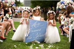 flower girl alternatives 2, wedding planning wedding ceremony just for fun ideas and trends