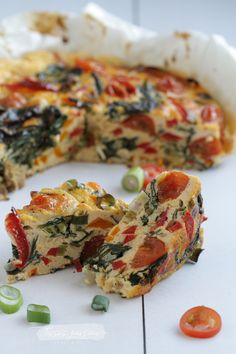 Gemüse-Frittata – Lissi's Passion - Healthy Food Recipes Lacto Vegetarian Diet, Ovo Vegetarian, Vegetarian Recipes, Healthy Recipes, Vegetable Frittata, Healthy Frittata, Vegetable Recipes, Healthy Snacks, Vegetarian Food