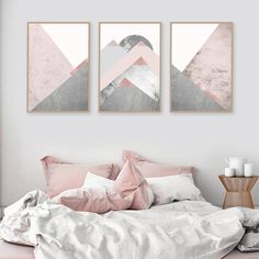 Druckbare Kunstdrucke Downloadable Set von 3 Berge erröten rosa grau skandinavischen Moderne zeitgenössische Poster Wanddekor Triptychon Trending Diese sind INSTANT DOWNLOADS – Ihre Dateien werden sofort nach dem Kauf zur Verfügung. Bitte beachten Sie, dass dies ist ein digitaler