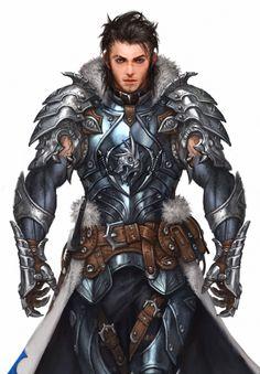 Asker Online / Soul-breaker wolf armor, Woo Kim on ArtStation at https://www.artstation.com/artwork/41kO1
