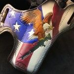 American Desert Eagle. Savoy Leather Holster Review