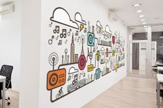 Branding + Illustration by Cliff Tomczyk, via Behance
