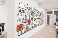 Branding + Illustration by Cliff Tomczyk, via Behance