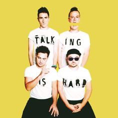 OMG I'm literally so obsessed with walk the moon and their new album. I've loved them since like 2011 or 2012?