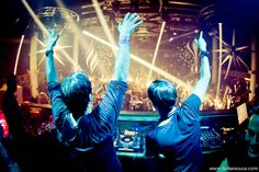 two of my favorites DJs Sebastian Ingrosso and Alesso at Amnesia by @tamarasusa
