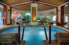 Take a deep breath at Tabacon Spa relaxation jacuzzi