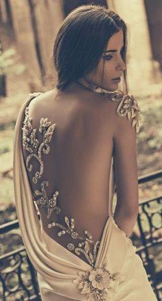 Wedding dress idea; Featured Dress: Julia Kontogruni