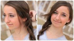 Learn how to create a #CGHDoubleFishtailTwist from my 13-yr old daughter! {More hairstyles from CuteGirlsHairstyles.com} #Hairstyles #Fishtail