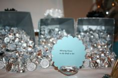 Tiffany & Co themed party details