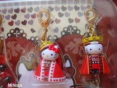 Hello Kitty & Dear Daniel & Mimmy Queen Heart limited mascot-2006.