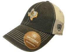 Baylor Bears TOW Gray United Mesh Adjustable Snapback Slouch Hat Cap
