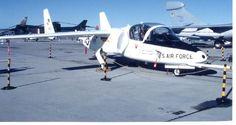 October 15, 1985: First flight of the Fairchild T-46