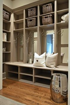 Mud Room Closet Design Ideas, Pictures, Remodel, and Decor - page 2