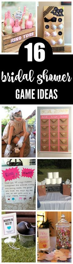 16 Fantastic Bridal Shower Games on Pretty My Party