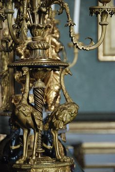 Ostrich lamp, Versailles France | Flickr - Photo Sharing!