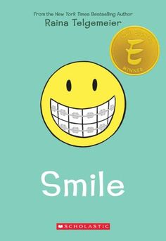 Smile good book for girls, also reluctant readers  graphic novel format