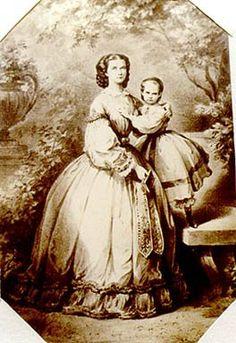 Sisi and Gisela, 1861