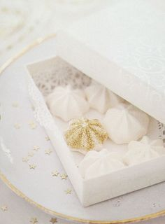 Cottage Charm ~ White and Gold