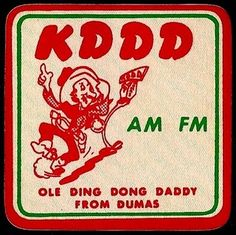 I'm a Ding Dong Daddy from Dumas!