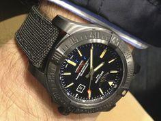 "Sportswatchblogger - Der Sportuhren Blog : Breitling Avenger Blackbird Titan 48mm ""unlimited""..."