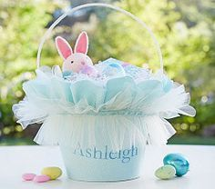 Easter Baskets & Easter Baskets For Toddlers | Pottery Barn Kids