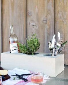 Beton Ist Ein Günstiges Und Vielseitiges Naturprodukt Und Ideal Für Die Gestaltung Im Garten.