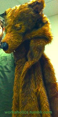 How DO you make those Animal Costumes? (Fursuits) - Bear Coat