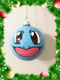 cute water pokemon squirtle kawaii holiday ornament christmas gift