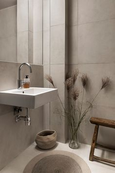 Small Bathroom Inspiration, Bad Inspiration, Bathroom Inspo, Home Decor Inspiration, Next Bathroom, Upstairs Bathrooms, Minimalist Small Bathrooms, Beddinge, How To Feng Shui Your Home