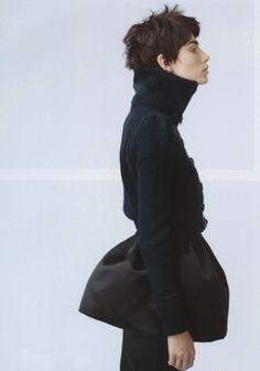 Publication: The Room Magazine #16 Fall/Winter 2012 Model: Aline Weber Photographer: Marton Perlaki