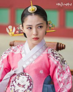 100 Days My (Hangul: 백일의 낭군님; Hundred Day's Husband) is a 2018 South Korean television series Korean Hanbok, Korean Dress, Korean Outfits, Korean Traditional Dress, Traditional Fashion, Traditional Dresses, Prince Hans, My Prince, Korean Women