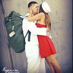 Navy homecoming!