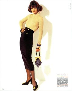 Beauty And Fashion Waist Skirt, High Waisted Skirt, Helena Christensen, Skirts, Beauty, Fashion, Moda, High Waist Skirt, Skirt