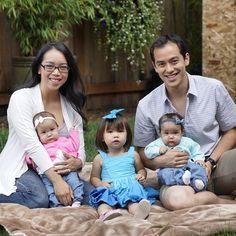 I just love this little family. Judy, Benji, Julianna, Kiera and Miyako Travis #itsjudyslife
