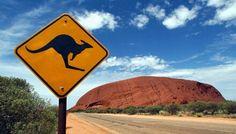 Ularu (formerly Ayres Rock) Northern Territory