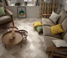 Just in! New Large Scale Lantern Tiles. Comes in five colours - Grey, White, Black, Cream, Taupe.   www.designtiles.com.au