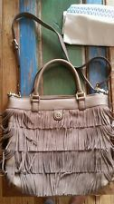 Tory Burch Suede Fringed bag