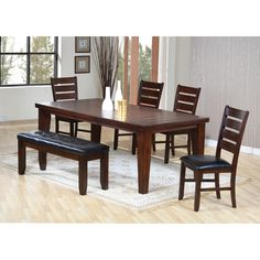 Private Reserve Collection Chaney 7 Piece Dining Set - Table and 6 Chairs Canada online at SHOP.CA - 392-890-01