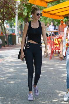 Gigi Hadid Day-to-Night Street Style | POPSUGAR Fashion