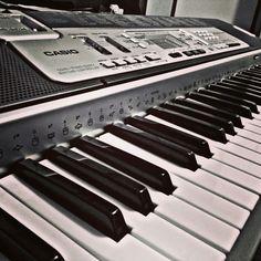 Keyboard in black and white hard fx