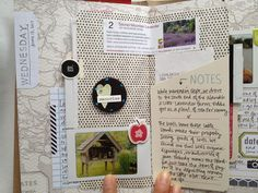Beautiful travel journal by shopevalicious: smashbook inspiration