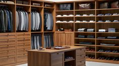 Traditional Style - Clothing Storage - Closet Ideas - Container Store - Home Organization