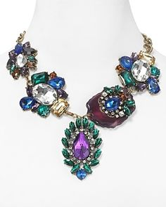 Cara Accessories Jeweled and Agate...       $68.00