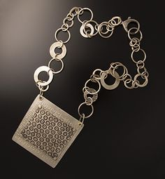 "Heather Hanley - #N9 Sterling Silver 18"" necklace"