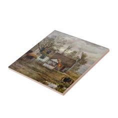 The Hay Wain tile