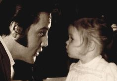 Those around Elvis were shocked at how well He adjusted to fatherhood. From  day one